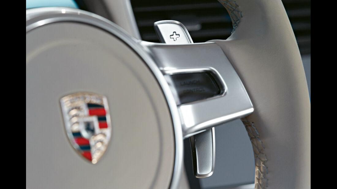 Porsche 911 Carrera S 991, Lenkrad, Emblem