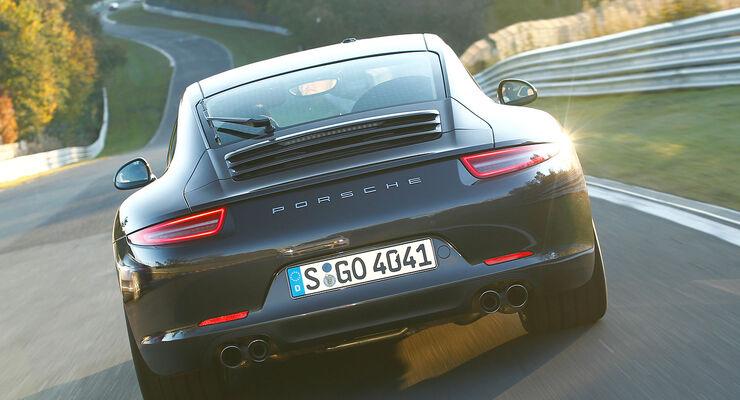 Porsche 911 Carrera S (991) im Supertest: Elfer entwickelt sich ...
