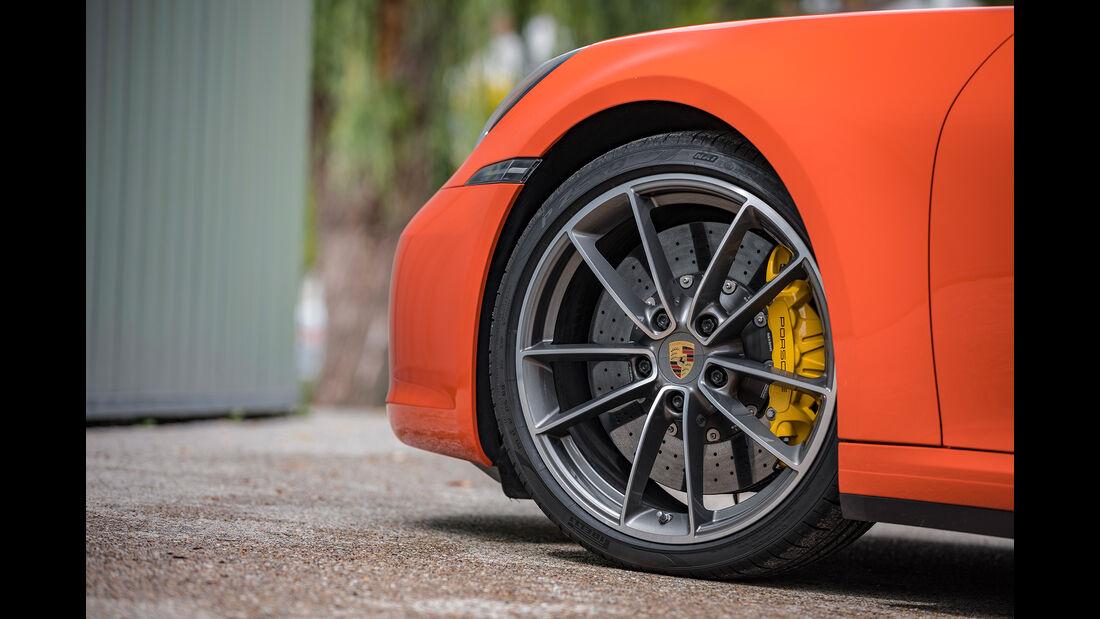 Porsche 911 Carrera S Cabrio, Exterieur