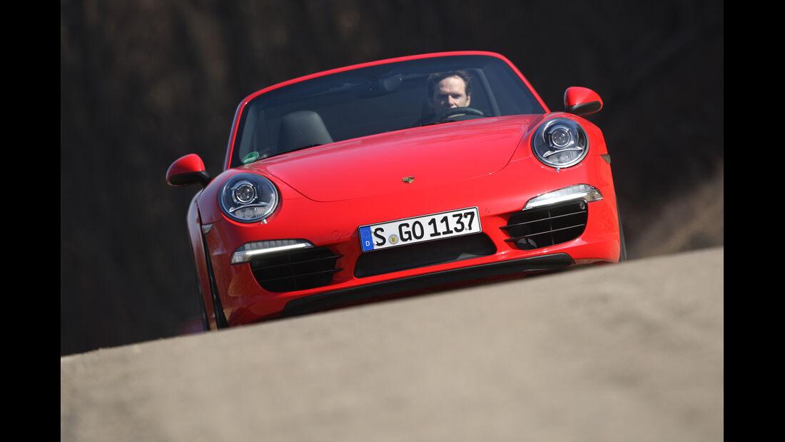 Porsche 911 Carrera S Cabrio, Frontansicht