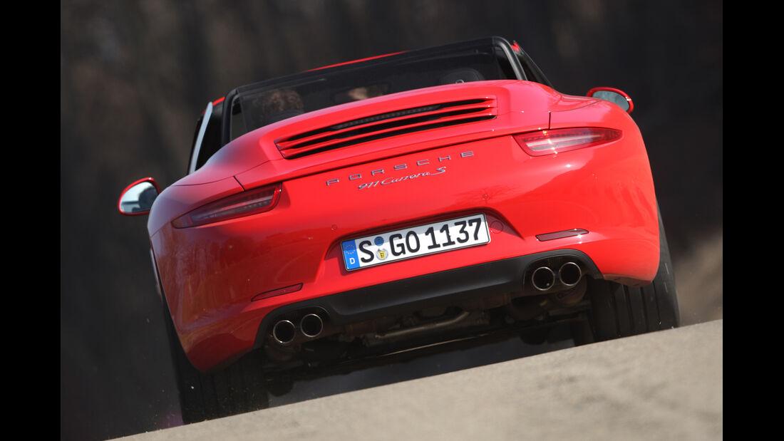 Porsche 911 Carrera S Cabrio, Heck