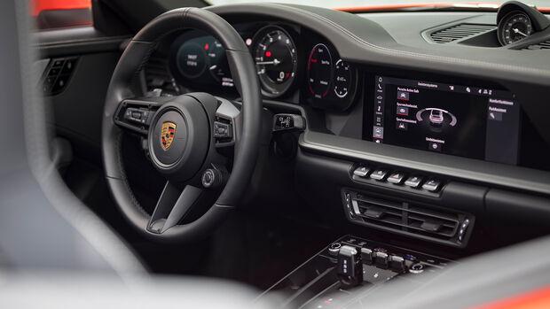 Porsche 911 Carrera S Cabrio, Interieur