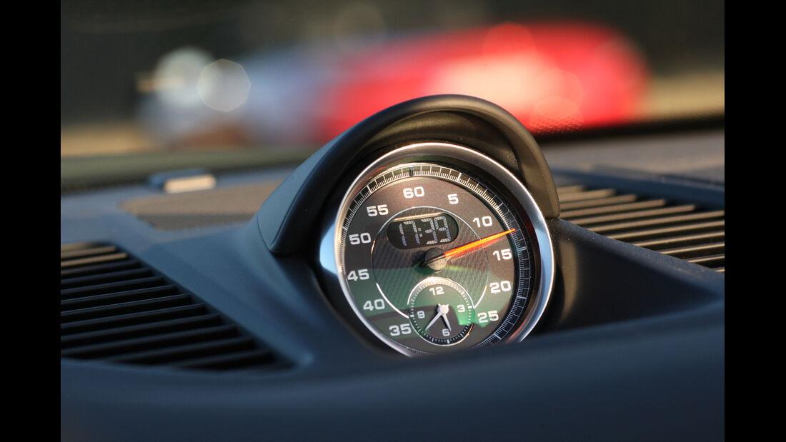Porsche 911 Carrera S Cabrio, Rundinstrument