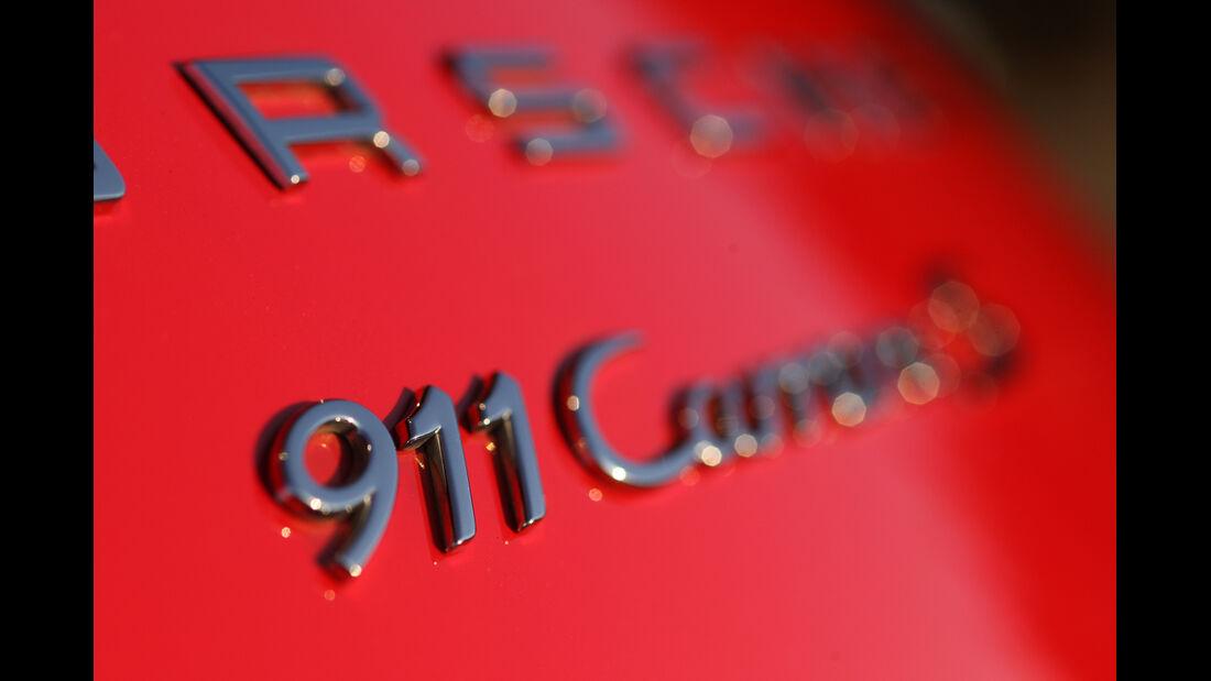 Porsche 911 Carrera S Cabrio, Typenbezeichnung