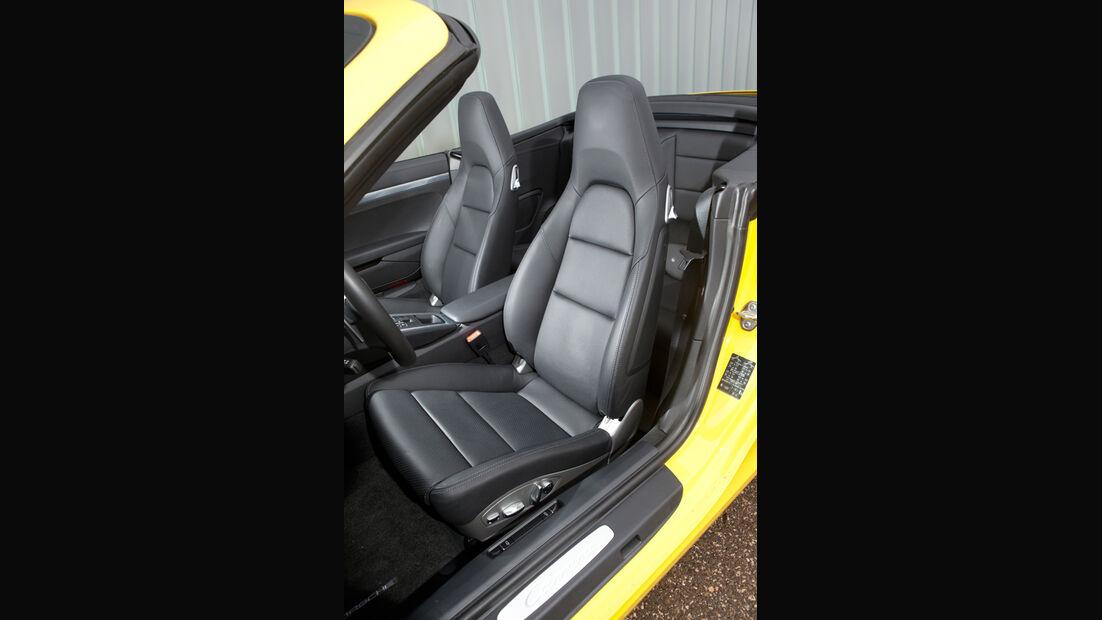 Porsche 911 Carrera S Cabriolet, Fahrersitz
