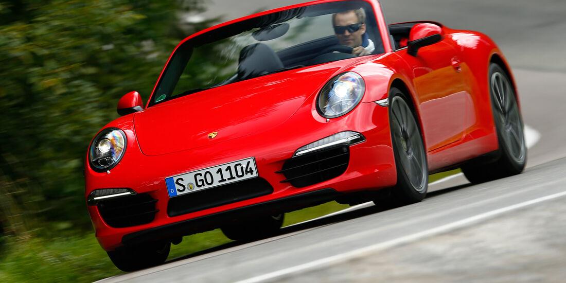 Porsche 911 Carrera S Cabriolet, Frontansicht