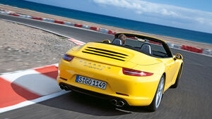 Porsche 911 Carrera S Cabriolet, Heck