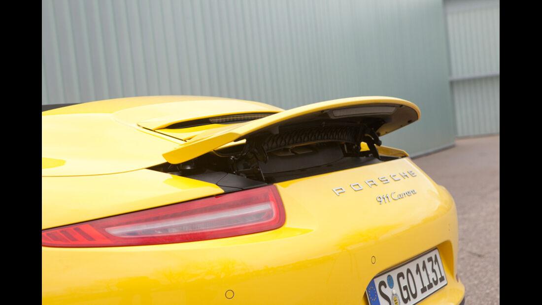 Porsche 911 Carrera S Cabriolet, Heckspoiler