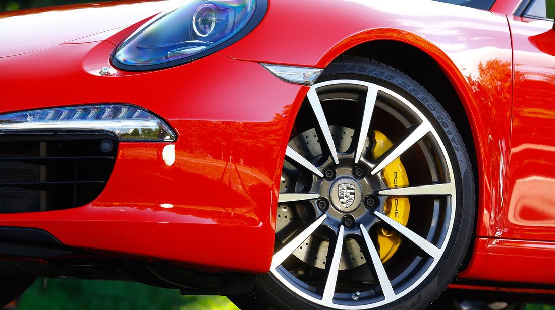 Porsche 911 Carrera S Cabriolet, Rad, Felge, Bremse