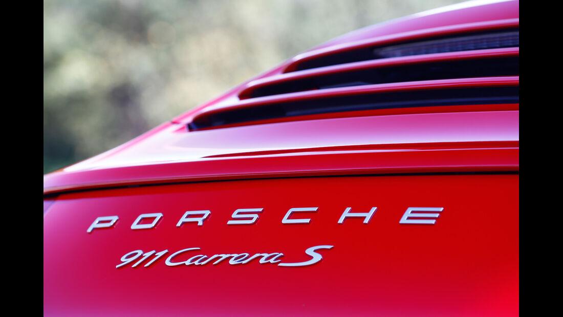 Porsche 911 Carrera S Cabriolet, Typenbezeichnung