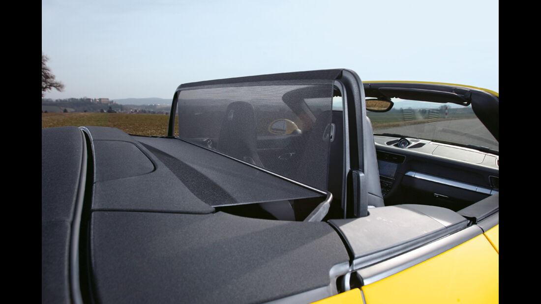 Porsche 911 Carrera S Cabriolet, Windschutz