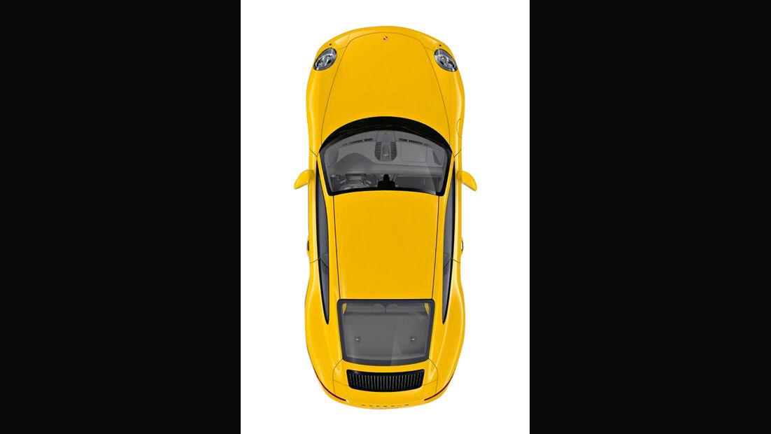 Porsche 911 Carrera S, Draufsicht