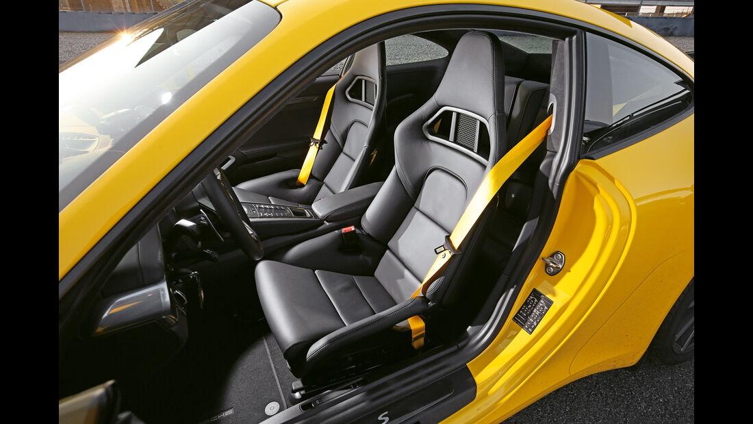 Porsche 911 Carrera S, Fahrersitz