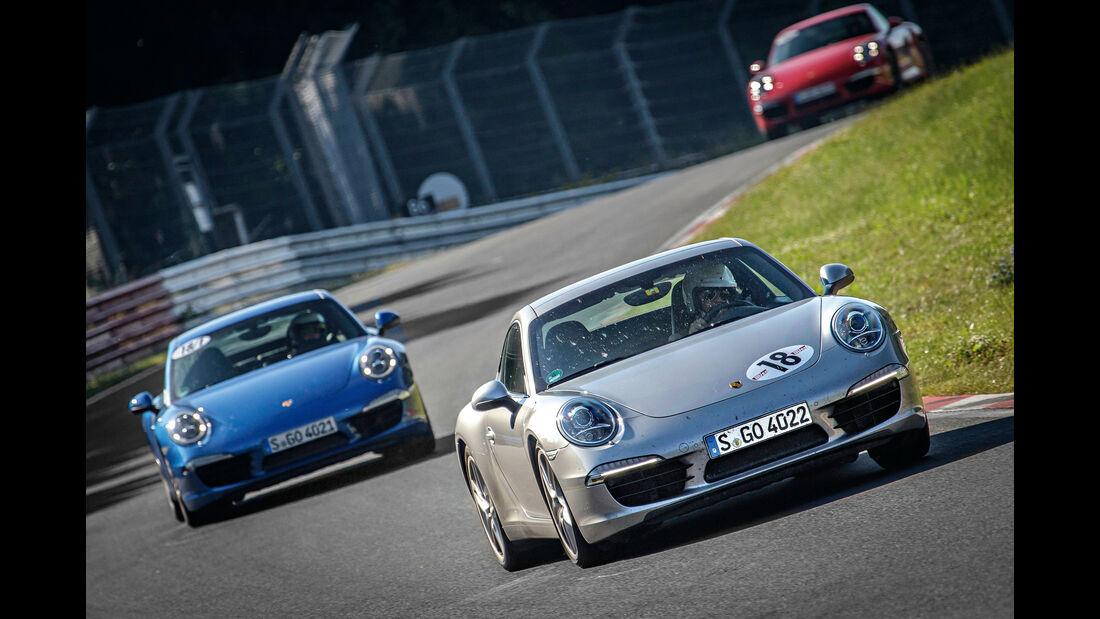 Porsche 911 Carrera S, Frontansicht, Nordschleife