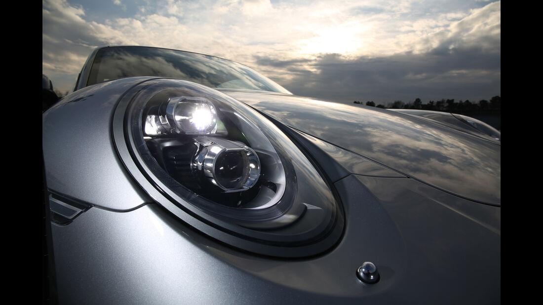 Porsche 911 Carrera S, Frontscheinwerfer