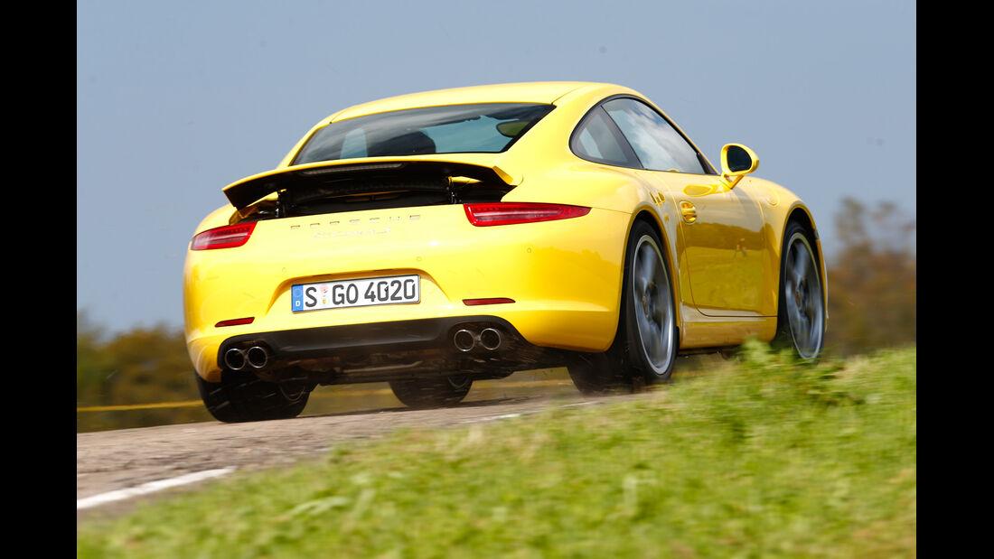 Porsche 911 Carrera S, Heckansicht