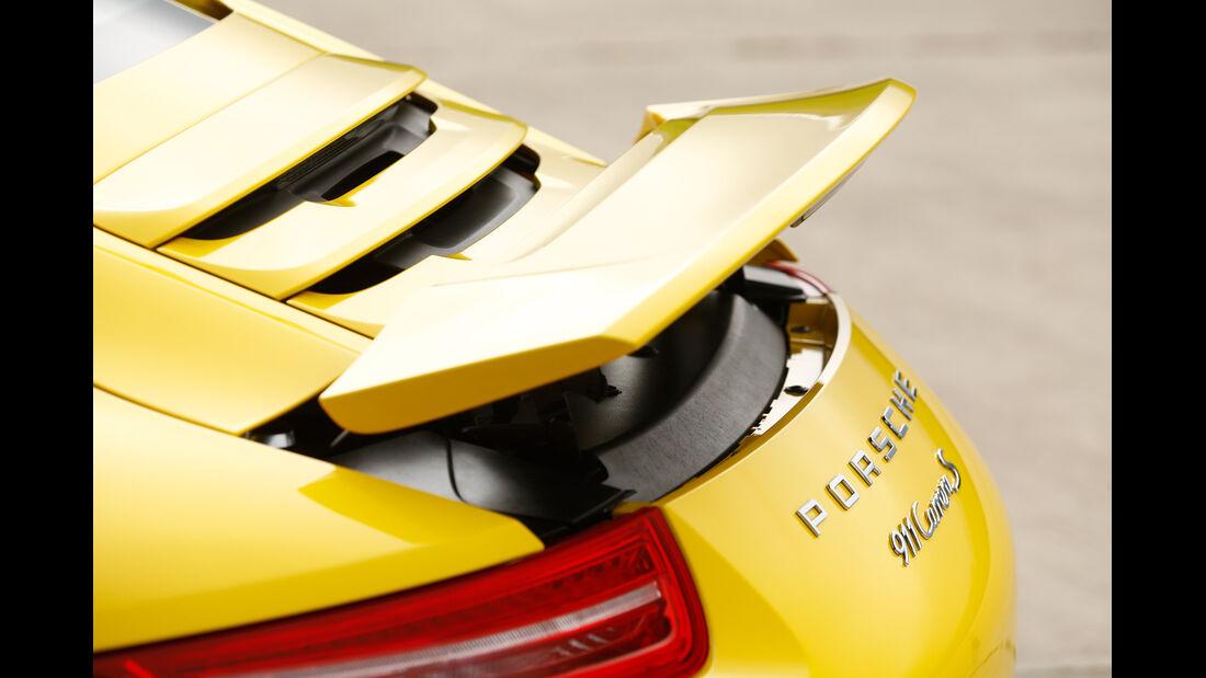 Porsche 911 Carrera S, Heckspoiler