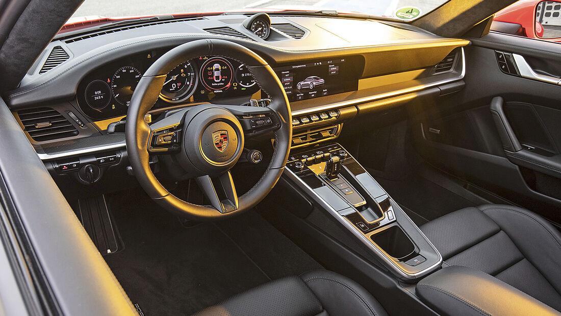 Porsche 911 Carrera S, Interieur