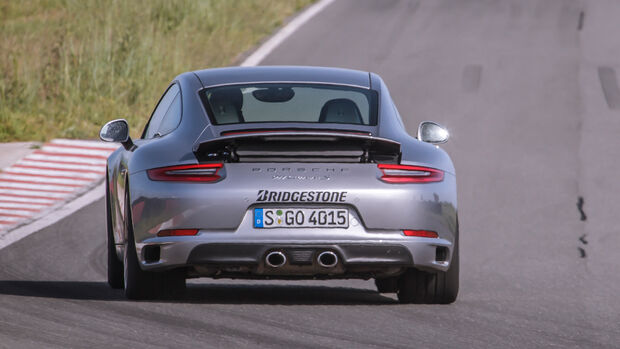 Porsche 911 Carrera S, International Test Drive, Impression