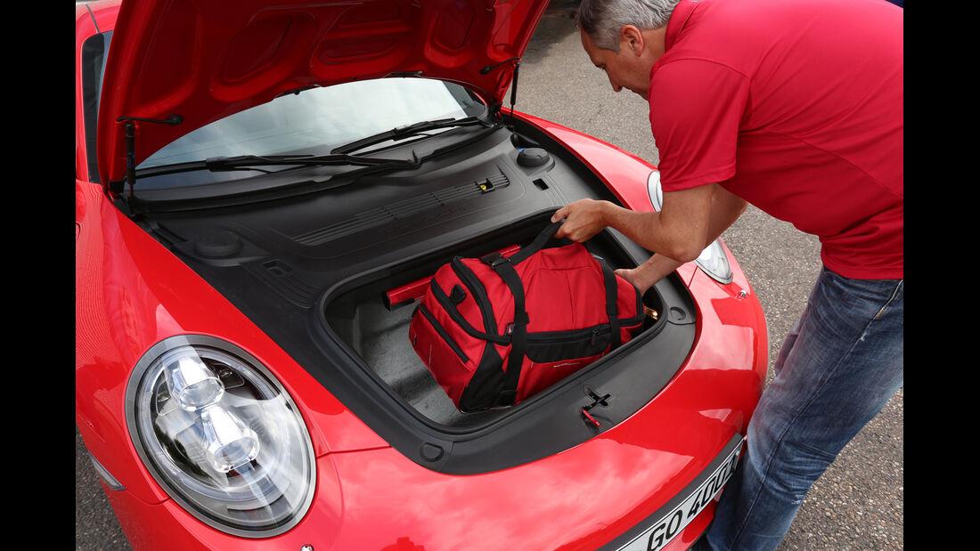 Porsche 911 Carrera S, Kofferraum