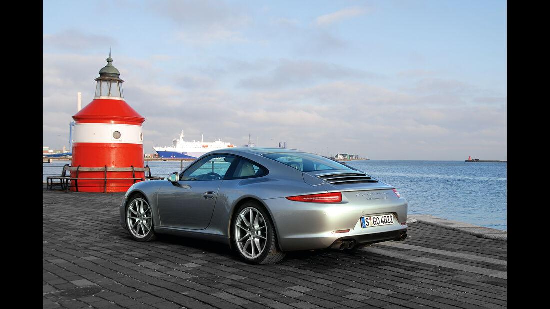 Porsche 911 Carrera S, Leuchtturm