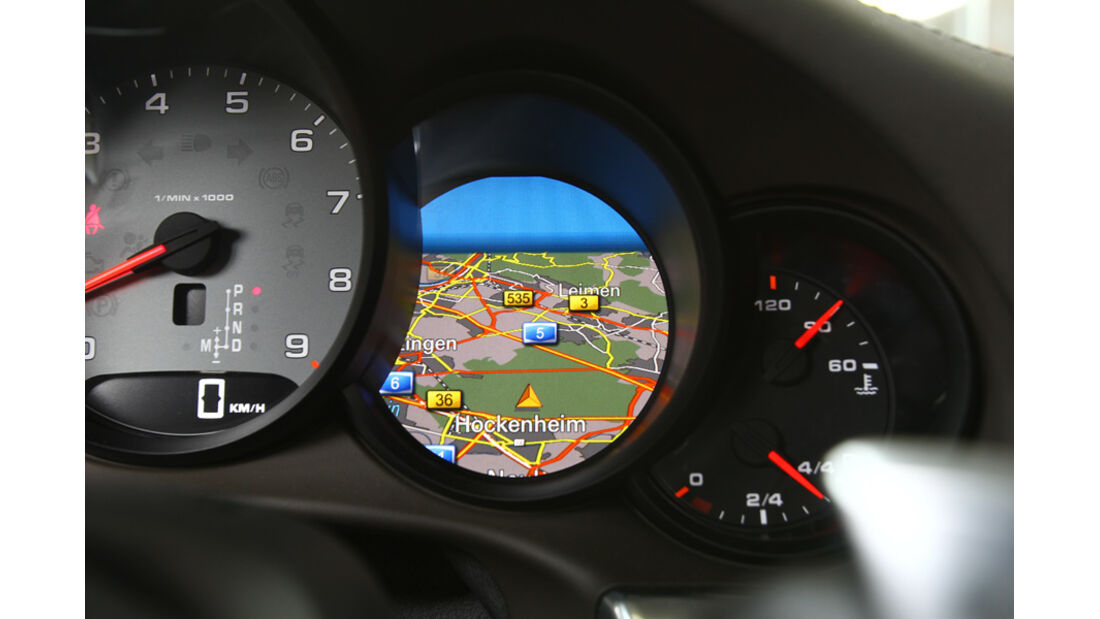 Porsche 911 Carrera S, Navi