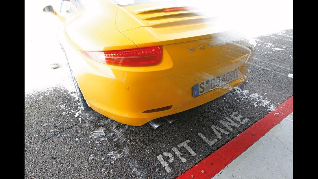 Porsche 911 Carrera S, Porsche 911 Carrera 4S, Heck