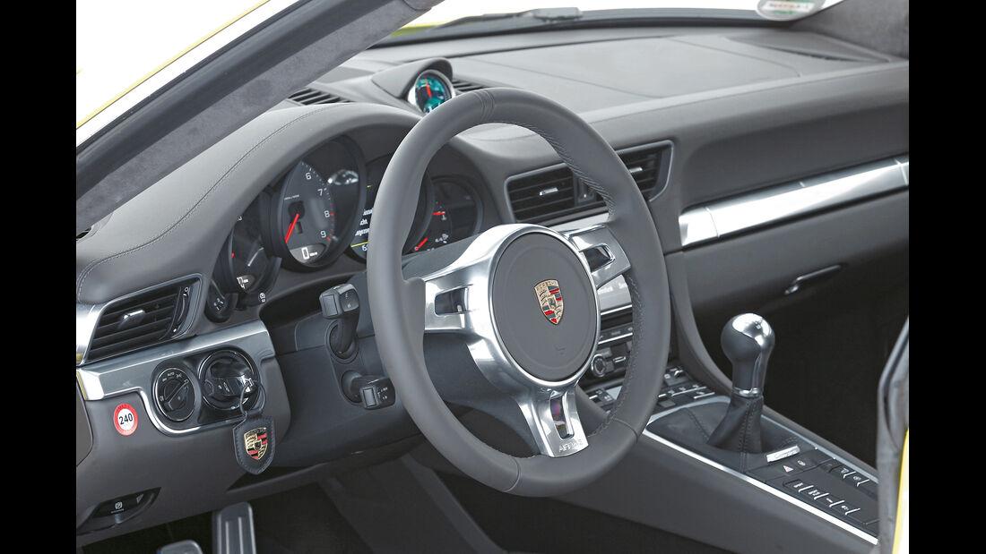 Porsche 911 Carrera S, Porsche 911 Carrera 4S, Lenkrad, Cockpit