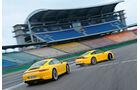 Porsche 911 Carrera S, Porsche 911 Carrera 4S, Seitenansicht