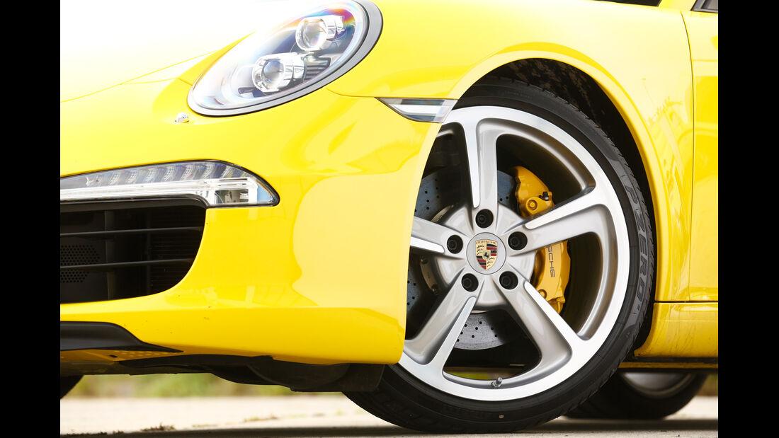Porsche 911 Carrera S, Rad, Felge, Bremse