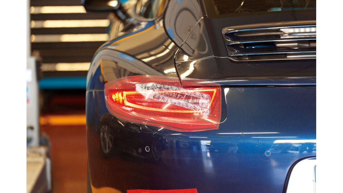 Porsche 911 Carrera S, Rücklicht