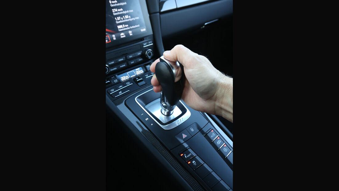 Porsche 911 Carrera S, Schalthebel