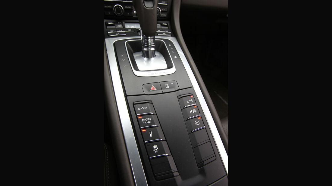 Porsche 911 Carrera S, Schalthebel, Schaltknauf