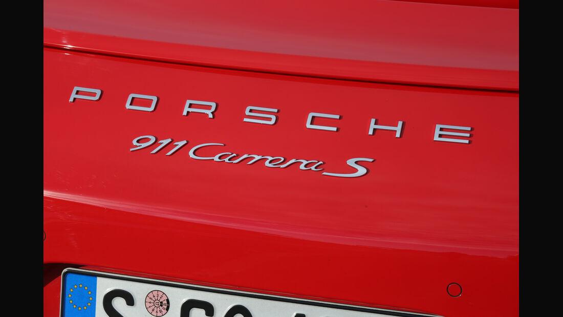 Porsche 911 Carrera S, Typenbezeichnung