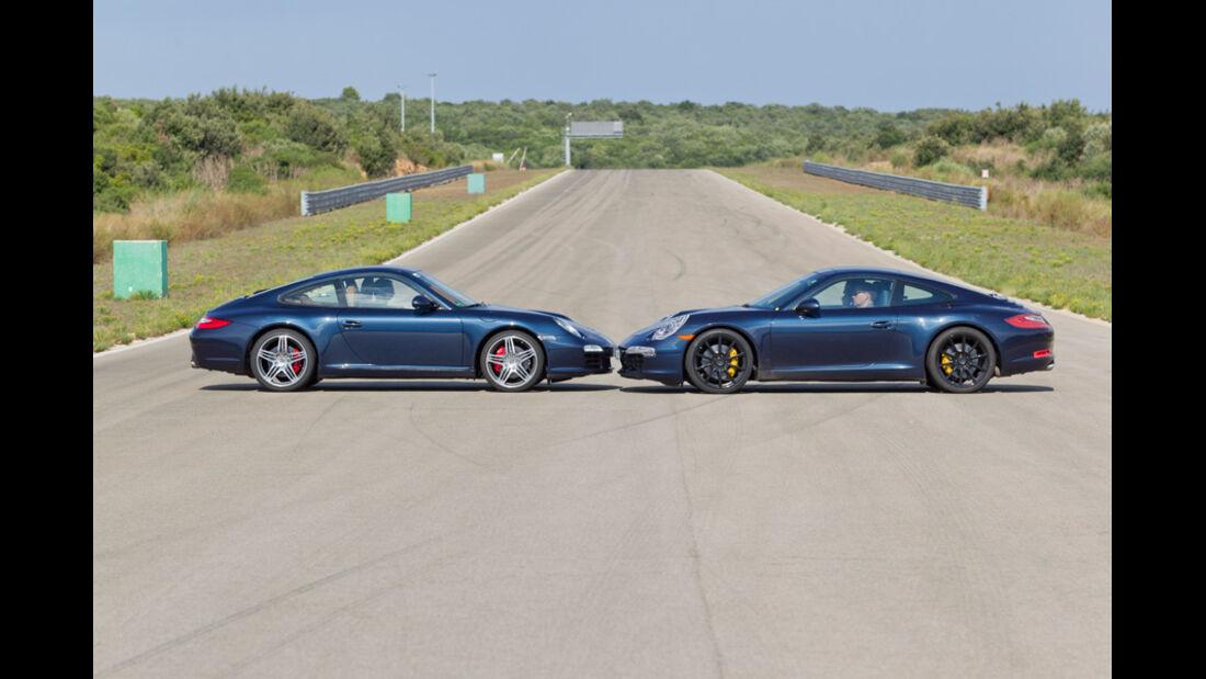 Porsche 911 Carrera S alt und neu