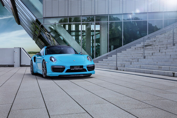 Porsche 911 Carrera S by Techart
