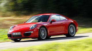Porsche 911 Carrera, Seitenansicht
