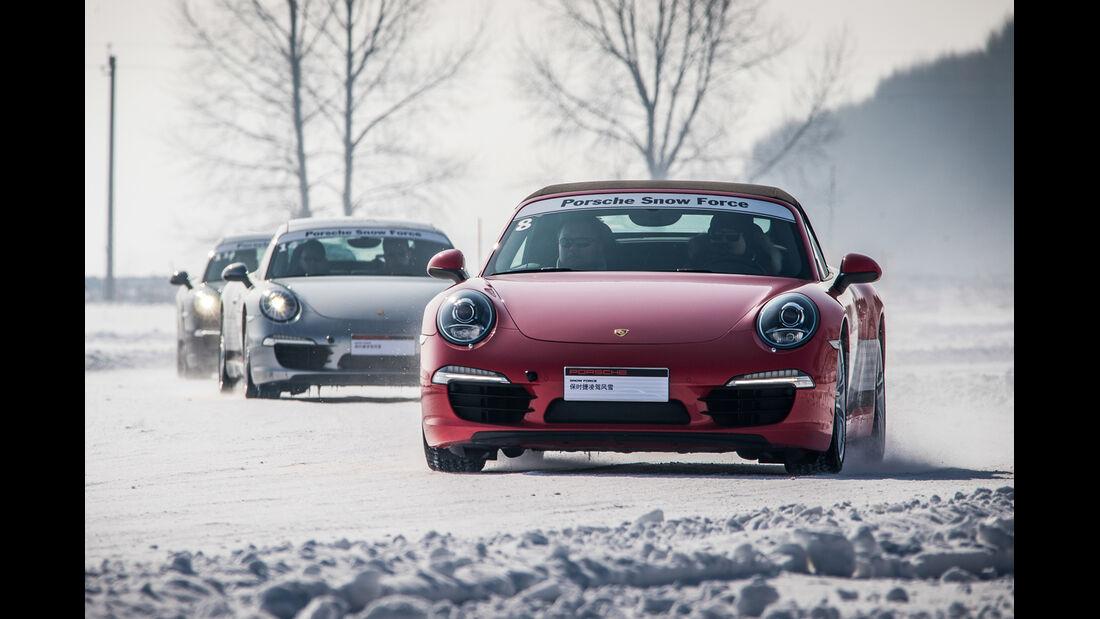Porsche 911 Carrera, Snow Force, Impresionen