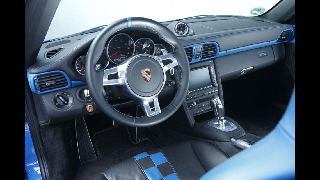 Porsche 911 Carrera Speedster Cockpit