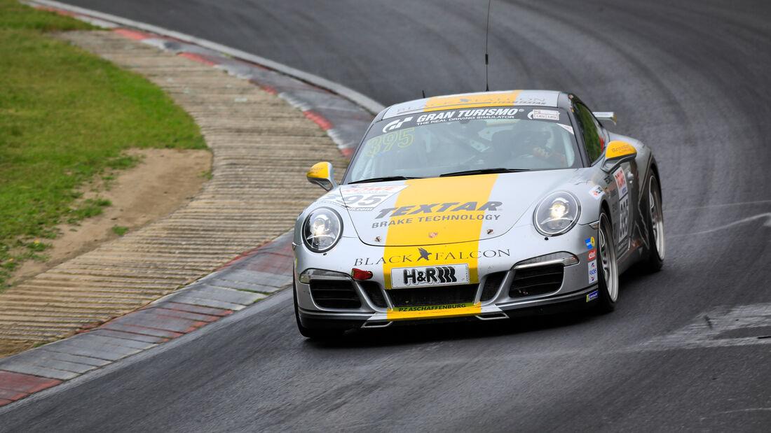 Porsche 911 Carrera - Startnummer #395 - BLACK FALCON Team TEXTAR - V6 - NLS 2020 - Langstreckenmeisterschaft - Nürburgring - Nordschleife