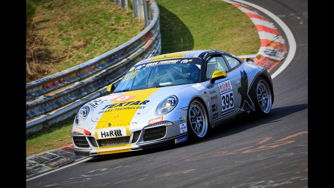 Porsche 911 Carrera - Startnummer #395 - Black Falcon Team Textar - V6 -VLN 2019 - Langstreckenmeisterschaft - Nürburgring - Nordschleife