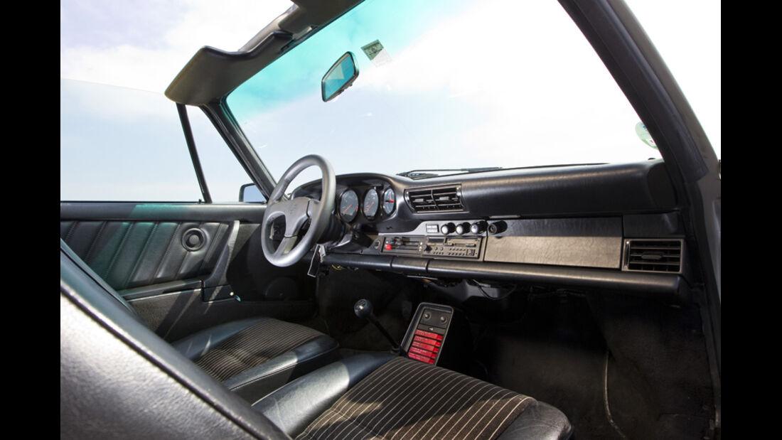 Porsche 911 Carrera Targa, Baujahr 1987 Innenraum
