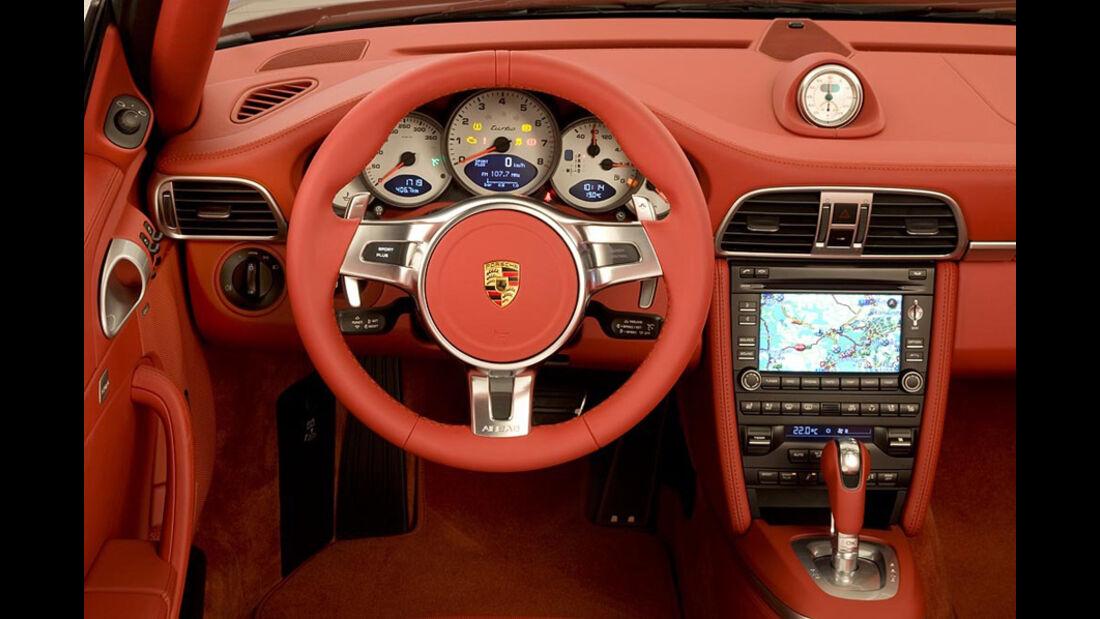 Porsche 911, Cockpit