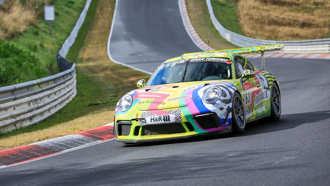 Porsche 911 Cup - Startnummer 63 - 24h Rennen Nürburgring - Nürburgring-Nordschleife - 25. September 2020