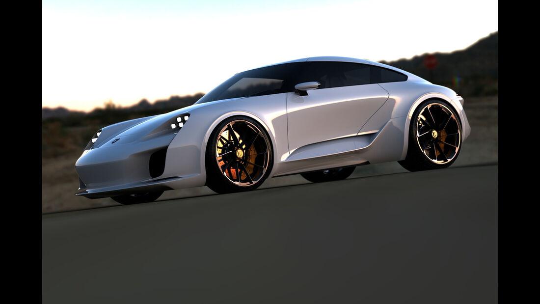Porsche 911 Design-Concept - Sasha Selipanov - 2016