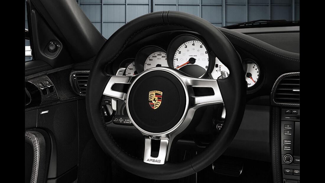 Porsche 911 Dreispeichen-Sportlenkrad PDK