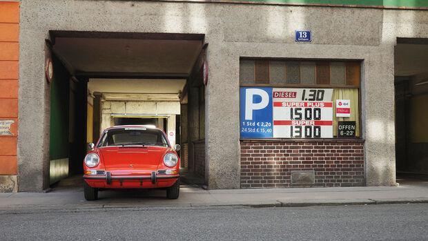 Porsche 911 E 2,2-Liter (1971) Blutorange