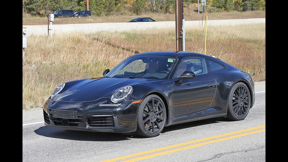 Porsche 911 Erlkönig mit Innenraum