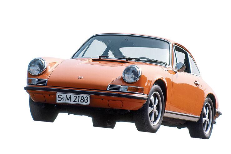 Porsche 911, F-Modell, Frontansicht