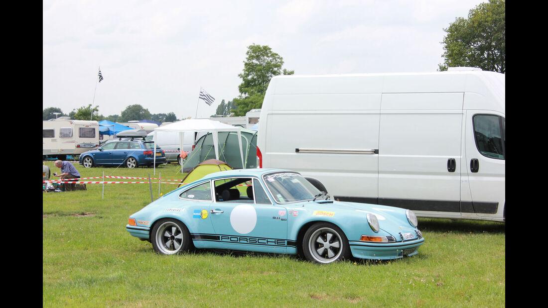 Porsche 911 Fan-Autos - 24h-Rennen Le Mans 2015